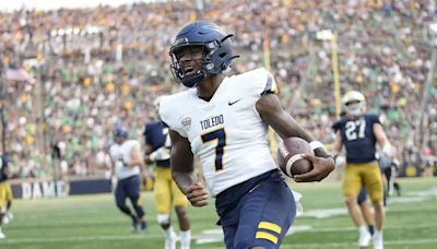 Detroit native sparks Toledo in pivotal MAC football win over Western Michigan