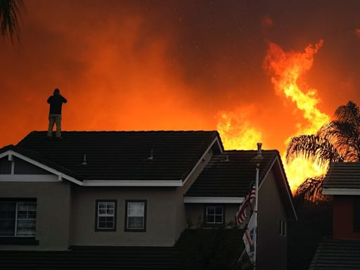 CA Fires: OC Blazes Grow; Weather Returns To 'Normal'