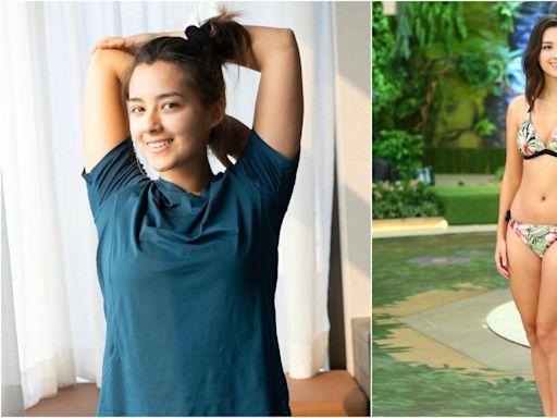 多圖|謝嘉怡素顏家居服做瑜伽 零濾鏡一樣獲讚:運動令心境平靜