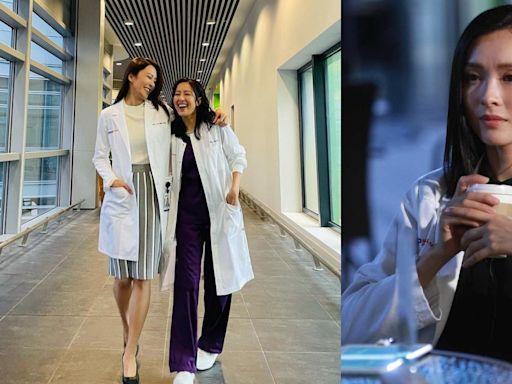 唐詩詠張曦雯重回舊地拍攝《白色強人2》 暗示李佳芯有望回歸?