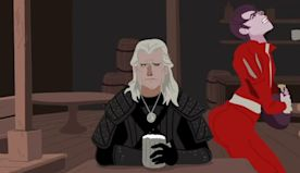 Jaskier Twerks To 'Toss A Coin To Your Witcher' In Animated Fan Video