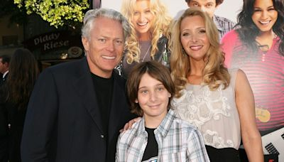 See Lisa Kudrow's Son All Grown Up