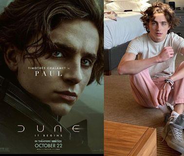 最有魅力的憂鬱小生!《沙丘瀚戰》男主角 Timothée Chalamet 12個令人一見傾心的時尚造型