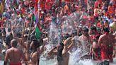 Millions Flock To Hindu Festival Amid Coronavirus Spike
