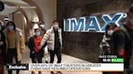 Imax China 'Very Focused' on Local-Language Content: CFO