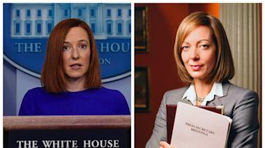 Column: Please stop comparing Biden Press Secretary Jen Psaki to 'The West Wing's' C.J. Cregg