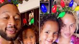John Legend and Chrissy Teigen Post Sweet Christmas-Themed Videos with Daughter Luna Simone, 4