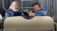 'Back to the Future' costars Michael J. Fox and Christopher Lloyd reunite
