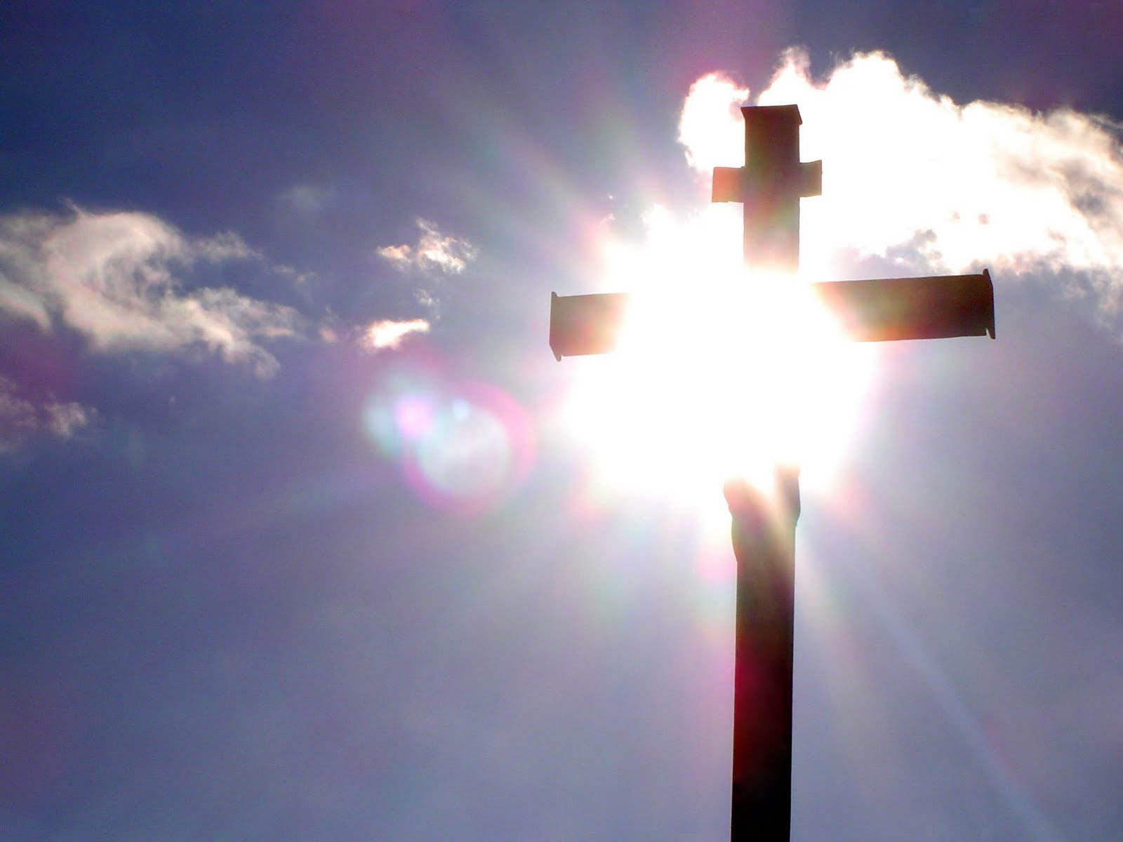 Jesus' cross gives us access to God in prayer