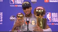 Giannis Antetokounmpo on winning title in Milwaukee: 'This is the way to do it'