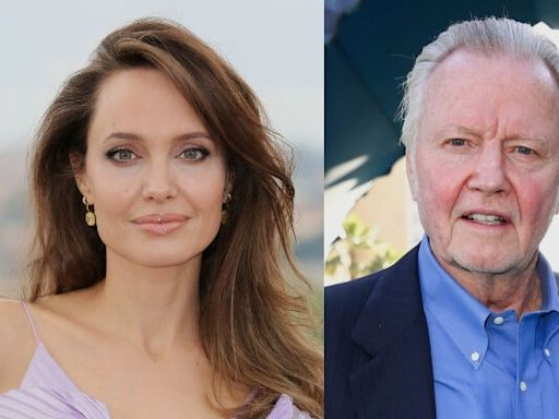 Angelina Jolie Showered With Support After 'Bats– Dad' Jon Voight Posts Another Pro-Trump Video