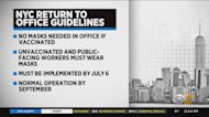 NYC Workers No Longer Need Masks, If Vaccinated
