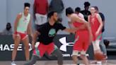 Watch a 7-foot high schooler cross up Stephen Curry (VIDEO)
