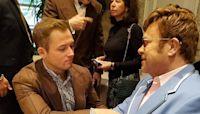 Golden Globes nominee Taron Egerton has emotional reunion with Elton John