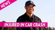 Tiger Woods Was 'Lucid and Calm' After Car Crash, Has Injuries to Both Legs
