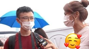 梁敏巧做《東張》外景主持 著閞胸上衣做訪問被Cap圖 - FanPiece