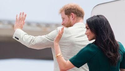 Meghan Markle won't be coming back to the UK with Prince Harry