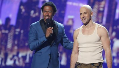 'America's Got Talent' contestant Jonathan Goodwin hospitalized after stunt goes wrong
