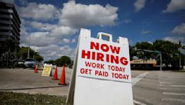 U.S. job growth seen strong as technical factors provide a boost