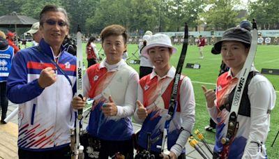 射箭世錦賽》中華女子隊完封法國晉八 也拿下東京奧運滿額門票 - 麗台運動報