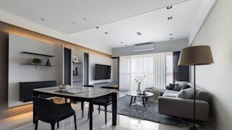 光的暖心巡禮!揉合簡約現代與木紋質感的自然家屋