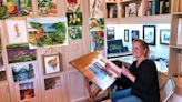 She rediscovered her love of painting during the pandemic