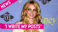 Giving an Update! Britney Spears Responds to Fans Who Ask If She's OK