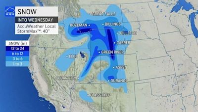 Hello winter: First major storm of the season hammers western US with heavy snow, howling winds
