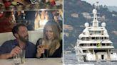 Ben Affleck Grabs Jennifer Lopez's Butt On Yacht Trip, Just Like 'Jenny From The Block' Music Video