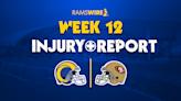Rams injury report: Higbee questionable, Lewis doubtful vs. 49ers