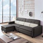 AS-柏琳L型皮沙發