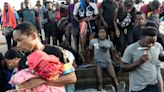 拜登解禁川普移民政策後,上萬移民被困在德州邊界橋下