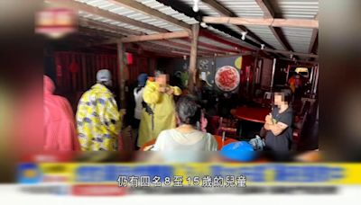 新北市虎豹潭洪水暴漲多人被沖走失蹤