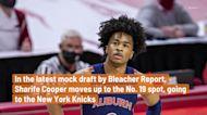 Sharife Cooper moves up in latest Bleacher Report NBA mock draft