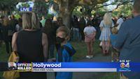 Prayer Vigil Held For Hollywood Officer Yandy Chirino