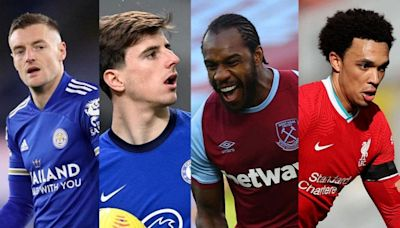 Premier League top four fixtures: Liverpool, Chelsea, Leicester and West Ham run-ins