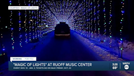 Magic of Lights at Ruoff Music Center