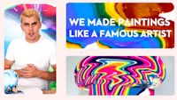 We Made Paintings Inspired By A Famous Artist | Artists & Crafts | Good Housekeeping | Artists & Crafts | Good Housekeeping