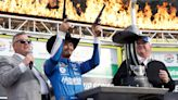 Larson Surges As Others Stumble