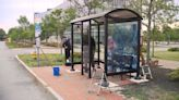Art displays at Portland bus stops raise awareness for social issues