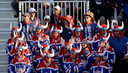 Ryder Cup fans show their pride: Team USA, Europe supporters dressed up for golf at Whistling Straits