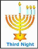 Hanukkah Blessings Third Night - Akhlah