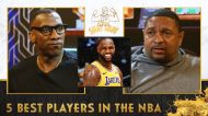 Mark Jackson lists the 5 best players currently in the NBA I Club Shay Shay