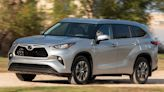 New Toyota Highlander SUVs Recalled for Stall Risk