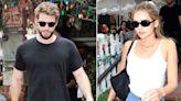 Liam Hemsworth Grabs Lunch with Girlfriend Gabriella Brooks in Los Angeles