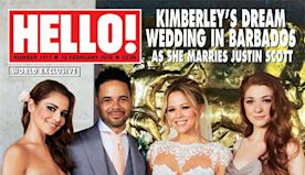 Kimberley Walsh shares gorgeous never-before-seen wedding photos for 4th anniversary