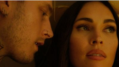 Megan Fox hands Machine Gun Kelly a knockout punch in the trailer for 'Midnight in the Switchgrass'