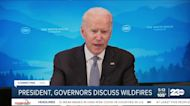 President, governors discuss wildfires