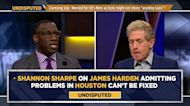 Shannon Sharpe: Rockets should not settle on Harden trade despite his public frustrations | UNDISPUTED