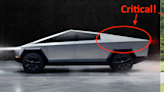 Here's why the Tesla Cybertruck has its crazy look